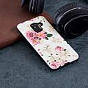 tanie Etui na telefony & Folie ochronne-Kılıf Na Samsung Galaxy A8 2018 / A5 (2018) Wzór Czarne etui Kwiaty Twarde PC na A5(2018) / A3 (2017) / A5 (2017)