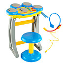 baratos Instrumentos de Brinquedo-Intex Pandeiro Voz Som Unisexo Para Meninos Para Meninas Brinquedos Dom 1 pcs