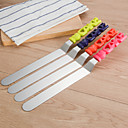 cheap Bakeware-Bakeware tools Stainless steel Creative Cake Baking & Pastry Spatula 1pc