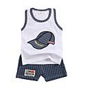 ieftine Set Îmbrăcăminte Băieți Bebeluși-Bebelus Băieți Peteci Fără manșon Set Îmbrăcăminte