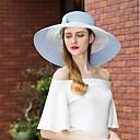 זול הד פיס למסיבות-טול כובעים עם פפיון 1pc קזו'אל / לבוש יומיומי כיסוי ראש