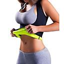 ieftine Inele la Modă-Body Shaper / Hot Sweat antrenament Tank Top Slimming Vest Cu 1 pcs Elastan Elastic, Fără fermoar Pierdere în greutate, Calorii Arse, Tummy Fat Burner Pentru Yoga / Fitness / Sală de Fitness