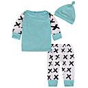 ieftine Set Îmbrăcăminte Băieți Bebeluși-Bebelus Băieți De Bază / Șic Stradă Geometric Manșon Lung Bumbac Set Îmbrăcăminte / Copil