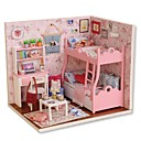 cheap Doll Houses-Dollhouse Creative Exquisite Mini House Romantic Pieces All Girls' Toy Gift