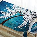 tanie Obrusy-Współczesny Kwadrat Obrus Kwiaty / Geometryczny Dekoracje stołowe 1 pcs