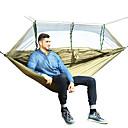 ieftine Genți Uscate & Cutii Uscate-Hamac Camping cu Plasă de Țânțari În aer liber Ușor Nailon pentru Drumeție / Camping / Călătorie - 2 persoane Albastru Închis / Gri /