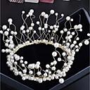 tanie Statywy na telefony komórkowe-Stop Grzebienie do włosów / Łańcuch głowy z Sztuczna perła 1 sztuka Ślub / Specjalne okazje Winieta