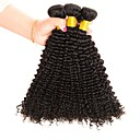 tanie Dopinki naturalne-3 zestawy Włosy malezyjskie Curly Włosy naturalne Fale w naturalnym kolorze / Doczepy z naturalnych włosów Kolor naturalny Ludzkie włosy wyplata Najwyższa jakość / Nowości / Dla czarnoskórych kobiet