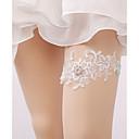 זול ביריות לחתונה-תחרה תחרה בירית חתונה עם ריינסטון / פנינים / אבזם ביריות חתונה / מסיבה וערב