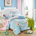 povoljno Cvjetni poplune-Poplun Cover Sets Cvjetni print Poly / Cotton S printom 4 komada