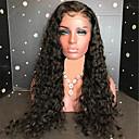 ieftine Peruci Păr Uman-Păr Remy Față din Dantelă Perucă Păr Brazilian Buclat Perucă 130% Pentru femei Lung Peruci Păr Uman