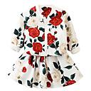 ieftine Rochii Fete-Copii Fete Floral Manșon Lung Set Îmbrăcăminte