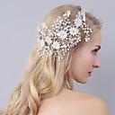 tanie Imprezowe nakrycia głowy-Kryształ / Imitacja pereł Opaski na głowę z Kwiat 1 sztuka Ślub / Impreza / bal Winieta