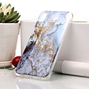זול מגנים לטלפון & מגני מסך-מגן עבור Huawei P20 / P20 lite IMD / תבנית כיסוי אחורי שיש רך TPU ל Huawei P20 / Huawei P20 lite / P10 Lite