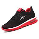 זול נעלי ספורט לגברים-בגדי ריקוד גברים רשת קיץ נוחות נעלי אתלטיקה הליכה שחור / כחול כהה / שחור אדום