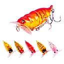 رخيصةأون طعم صيد الأسماك-6 pcs خدع الصيد طعم صيد جامد بلاستيك الخارج الغرق طعم الاسماك إغراء الصيد الصيد العام
