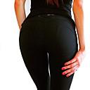 povoljno Ekstenzije od ljudske kose-Žene Pamuk Sportski Legging - Jednobojni Niski struk Crvena Plava Žutomrk M L XL / Uske