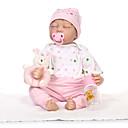 preiswerte Puppen-NPKCOLLECTION Lebensechte Puppe 22 Zoll Silikon Kinder Mädchen Geschenk