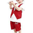 preiswerte Kleidersets für Jungen-Kinder Jungen Solide Ärmellos Kleidungs Set