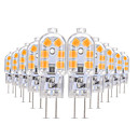 abordables Luces LED de 2 Pin-YWXLIGHT® 10pcs 3W 200-300lm G4 Luces LED de Doble Pin T 12 Cuentas LED SMD 2835 Blanco Cálido / Blanco Fresco / Blanco Natural 12V