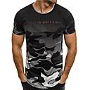 cheap Earrings-Men's Basic T-shirt - Camouflage