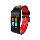 baratos Pulseiras Smart & Monitores Fitness-Relógio inteligente STSX20 para Android iOS Bluetooth Impermeável Monitor de Batimento Cardíaco Medição de Pressão Sanguínea Tela de toque Suspensão Longa Podômetro Aviso de Chamada Monitor de