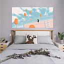 preiswerte Nagel Design-Dekorative Wand Sticker / Türaufkleber - Flugzeug-Wand Sticker / 3D Wand Sticker Abstrakt / Landschaft Wohnzimmer / Schlafzimmer
