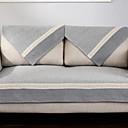 tanie Pokrowce na sofy i fotele-Pokrowiec na sofę Prążki / Geometric Shape / Wiele kolorów Reactive Drukuj Poliester Slipcovers