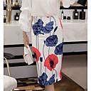 cheap Rings-women's midi pencil skirts - floral