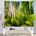 cheap Wall Murals-Holiday Wall Decor Polyester Classic Wall Art, Wall Tapestries Decoration