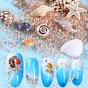 cheap Rhinestone & Decorations-20 pcs Outfits Metallic Crystal Wedding / Party Evening / Dailywear Nail Art Design / Nail Art Drill Kit