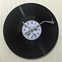 cheap Pillow Covers-Modern Style Plastic & Metal Round Indoor,AA Batteries Powered Wall Clock