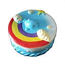 זול מפיגי מתח-LT.Squishies צעצוע מעיכה / מקל מתחים Cake הפגת מתחים וחרדה / צעצועים לחץ לחץ דם Others 1pcs לילדים כל מתנות
