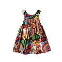 cheap Girls' Dresses-Toddler Girls' Floral Sleeveless Dress