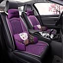 זול כיסויי למושבים לרכב-ODEER כריות למושבי הרכב כיסויים שחור / סגול טֶקסטִיל / עור מלאכותי נפוץ for אוניברסלי כל השנים כל הדגמים