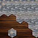 billige Veggklistremerker-Dekorative Mur Klistermærker - 3D Mur Klistremerker Former / 3D Stue / Soverom / Baderom