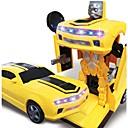 abordables Carros de juguete-Coches de juguete Coche / Robot Transformable / Creativo / Música y luz Carcasa de plástico Niño Regalo 1 pcs