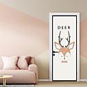 ieftine Acțibilde de Perete-Autocolante de Perete Decorative / Etichete pentru autovehicule - Animal Stickers de perete / Sărbători perete Abțibilduri Animale /