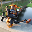 cheap Fishing Reels-Fishing Reel Spinning Reel 5.2:1 Gear Ratio+12 Ball Bearings Hand Orientation Exchangable Sea Fishing / Bait Casting