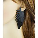 povoljno Modne ogrlice-Žene Križ tijelo Viseće naušnice - Leaf Shape Osnovni, Moda Crn Za Dnevno / Spoj