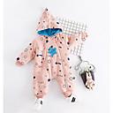ieftine Top Băieți Bebeluși-Bebelus Băieți Activ Imprimeu Manșon Lung Poliester O - piesă Roz Îmbujorat 90