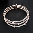 voordelige Bruiloftsomslagen-Dames Cuff armbanden - Europees, Modieus Armbanden Zilver / Goud Rose Voor Bruiloft / Dagelijks