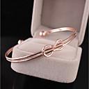 cheap Earrings-Women's Double Twine Cuff Bracelet - Sweet, Fashion Bracelet Gold / Silver For Party Date