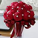 baratos Relógios de Parede Rústicos-Flores artificiais 1 Ramo Clássico Casamento / buquês de Noiva Rosas Flor de Mesa