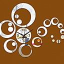 levne Nástěnné hodiny-Moderní soudobé Plastický Nepravidelný Vevnitř