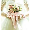 cheap Wedding Decorations-Wedding Flowers Bouquets Wedding / Wedding Party Satin / Fabrics 11-20 cm