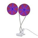 cheap Plant Growing Lights-1pc 15 W Growing Lamp 1000 lm E26 / E27 126 LED Beads SMD 2835 New Design Flexible Lamp Holder Clip Red Blue 85-265 V