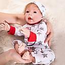 ieftine Păpuși-OtardDolls Păpuși Renăscute Bebe Băiețel 20 inch natural Confecționat Manual Siguranță Copii Non Toxic Interacțiunea părinte-copil Mâna înrădăcinată Mohair Lui Kid Băieți / Fete Jucarii Cadou