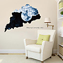 cheap Wall Stickers-Decorative Wall Stickers - Plane Wall Stickers Landscape Living Room / Bedroom / Bathroom
