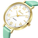 cheap Fashion Watches-Geneva Women's Dress Watch / Wrist Watch Chinese New Design / Casual Watch / Cool Leather Band Casual / Fashion Black / Brown / Pink